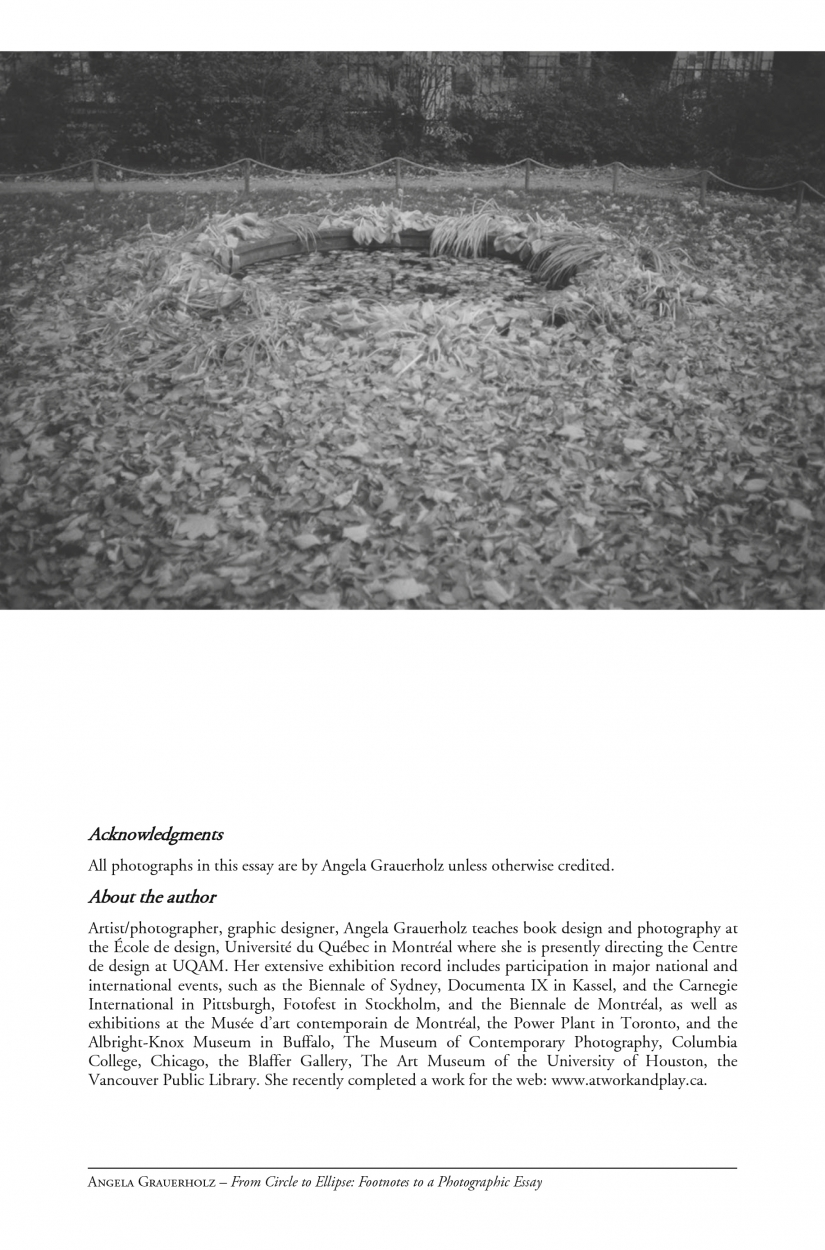 nexus network journal angela grauerholz from circle to ellipse footnotes to a photographic essay